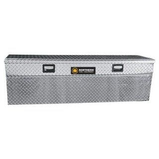 Aluminum Flush Mount Side Bin Truck Box   Diamond P