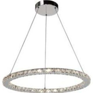 Artcraft Lighting AC181 Eternity Modern Contemporary Circular 33 Light Chandelier In Polished Chrome   Ceiling Pendant Fixtures