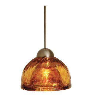LBL Lighting HS266AMBZ1A35MRL Sophia   Monorail Low Voltage Pendant, Choose Finish AB Antique Bronze   Track Lighting Heads