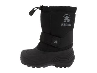 Kamik Kids Rocket Wide Toddler Little Kid Big Kid Black
