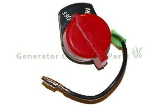 Honda Gx160 & China 168 Engine Motor Generator Lawn Mower Water Pump Replacement Kill Switch Button  Generator Replacement Parts  Patio, Lawn & Garden