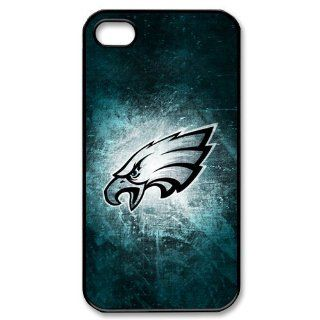 Unique Design NFL Series Iphone 4/4s Case Philadelphia Eagles NFL IPhone 4 4S Case Snap On Cover Faceplate Protector Cell Phones & Accessories