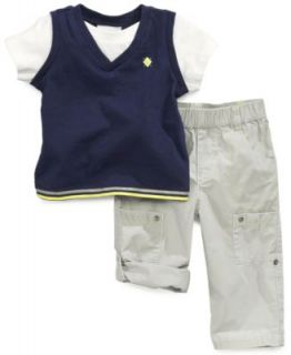 Carters Baby Boys 3 Piece Bodysuit, Shirt & Pants Set   Kids