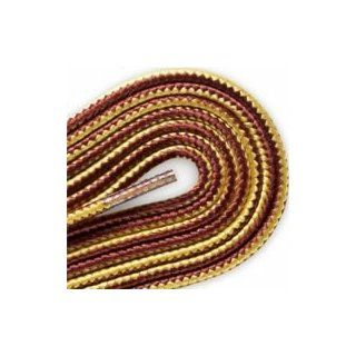 I 158 Red Wing 120 inch Gold/Tan Round Braided Taslan Lace 2 Pair Pack Shoelaces Shoes