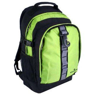 K Cliffs Green Student School Book Bag Outdoor Sports Hiking Backpack Sports & Outdoors