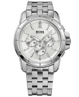 Hugo Boss Watch, Mens Chronograph Origin Stainless Steel Bracelet 46mm 1512929   Watches   Jewelry & Watches