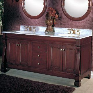 "Victoria Double Vanity   Fairmont Designs Bathroom Vanity 154 V72 72"" W x 21"" D x 33 1/2"" H"