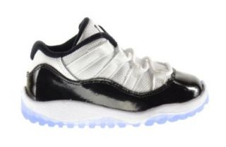 Jordan 11 Retro Low BT Baby Toddlers Shoes White/Black Dark Concord 505836 153 Shoes