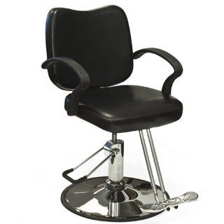 Hydraulic Barber Chair Styling Salon Work Station Chair Black Modern Design New Beauty