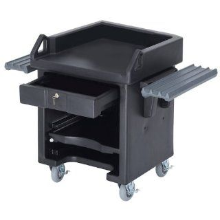 Cambro Versa Portable Cashier Cart Heavy Duty Casters   With Dual Tray Rails