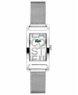 Lacoste Watch, Womens Inspiration Stainless Steel Mesh Bracelet 18mm 2000679   Watches   Jewelry & Watches
