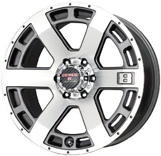"Level 8 Scorpion Wheel with Anthracite Machined Face (18x9""/6x139.7mm) Automotive"