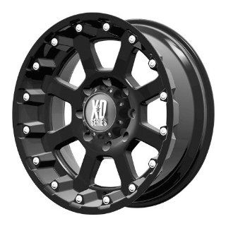 17x9 KMC XD Strike (Matte Black) Wheels/Rims 6x139.7 (XD80779068724N) Automotive