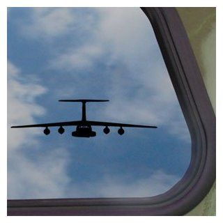 C 141 Starlifter Lockheed Black Decal Truck Window Sticker Automotive