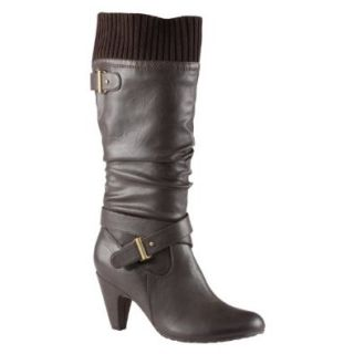 ALDO Eti   Women Knee high Boots   Dark Brown   6� Shoes