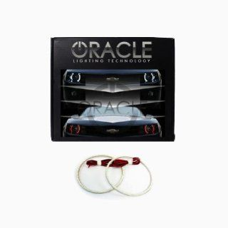 Oracle Lighting JE WR0713F RW   Jeep Wrangler Dual Color LED Halo Fog Light Kit   Red & White Automotive