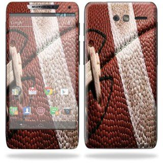 MightySkins Protective Skin Decal Cover for Motorola Droid Razr M Cell Phone Sticker Football Cell Phones & Accessories