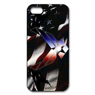 Custom Air Force Cover Case for IPhone 5/5s WIP 118 Cell Phones & Accessories