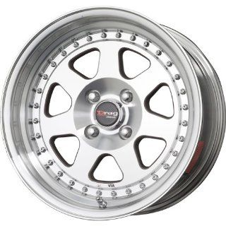 "Drag DR 27 Wheel with Machined Finish (16x8.25""/4x114.3mm) Automotive"