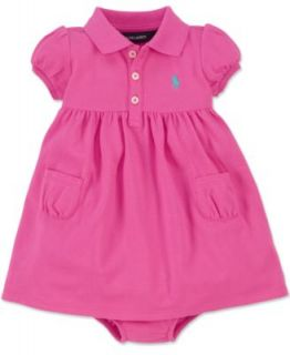 Ralph Lauren Baby Girls Dress, Baby Girls Colorblocked Dress   Kids
