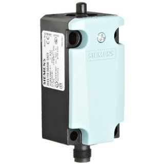 Siemens 3SE5 114 0BA00 1AC5 International Basic Switch, 40mm Metal Enclosure, M12 Connector Socket, 5 Pole, Slow Action Contacts, 1 NO + 1 NC Contacts Electronic Component Limit Switches