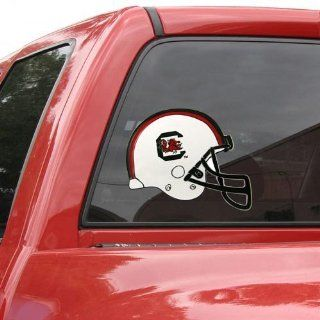 South Carolina Gamecocks Helmet Window Cling  Sports Fan Decals  Sports & Outdoors