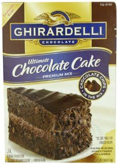 Ghirardelli Ultimate Chocolate Cake, (7 lbs)112 Ounce  Cake Mixes  Grocery & Gourmet Food