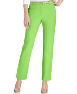Lauren Ralph Lauren Petite Straight Leg Sateen Dress Pants   Pants   Women