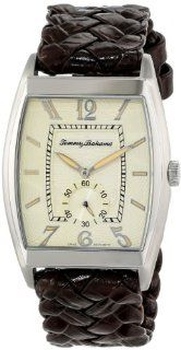 Tommy Bahama Swiss Men's TB1177 Islander II Custom Beveled Barrel Case with Sub Second Hand Watch at  Men's Watch store.