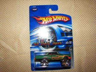 hot wheels 63 chevy impala 104 2006 4/5 hi rakers Toys & Games