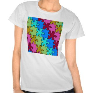 autism puzzle pieces 3 shirt