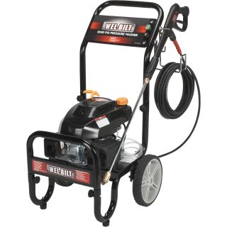 Wel-Bilt Vertical Gas-Powered Pressure Washer — 2.2 GPM, 2500 PSI  Gas Cold Water Pressure Washers