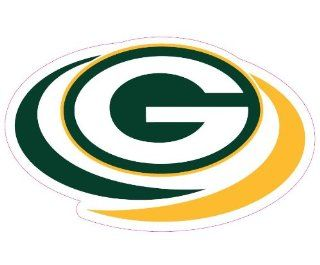Green Bay Packers Team Auto Window Decal (12 x 10  inch)  Automotive Accessories  Sports & Outdoors