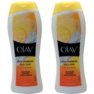 Olay Body Wash with Shea Butter, Body Ultra Moisture, 12 Ounce (2 Pack)  Body Lotions  Beauty