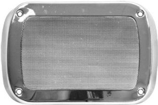 New Chevy Truck, GMC Dash Speaker Grille   Chrome 55 56 57 58 59 Automotive