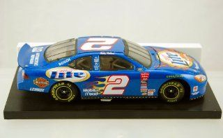 Action   2000   NASCAR   Rusty Wallace   Miller Lite   Ford Racing   Harley Davidson Motorcycles Paint   124 Scale Stock Car   Limited Edition   Collectible Toys & Games