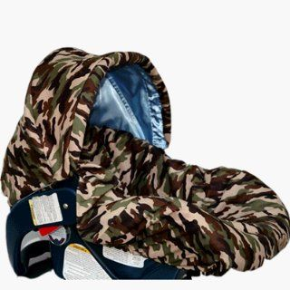 Daddy Camo/blue W/trim Infant Car Seat Cover  Baby Products  Baby