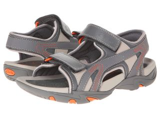 Clarks Kids Air Sand Boys Shoes (Gray)