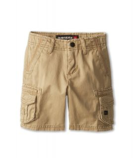 Quiksilver Kids Deluxe Walkshort Boys Shorts (Khaki)