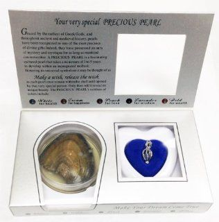 18K GP  A Pearl to Remember, Precious Fresh Water Pearl in Gift Box   Make A Wish Pearl Jewelry