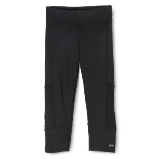 C9 by Champion Womens Premium Must Have Capri Legging With Cuff   Black XS