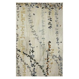 Mohawk Home Vines Area Rug   Blue/Cream (8x10)