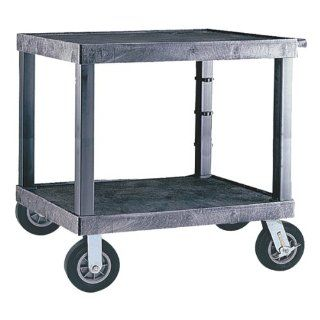 Tuffy Heavy Duty Equipment Cart in Black   Utility Carts