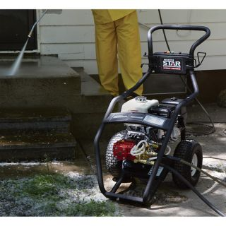 NorthStar Super High Flow Gas Cold Water Pressure Washer — 5.0 GPM, 3000 PSI, Model# 15782030  Gas Cold Water Pressure Washers