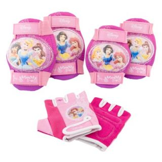 Disney Princess Girls Bicycle Pad Set 6 pc.