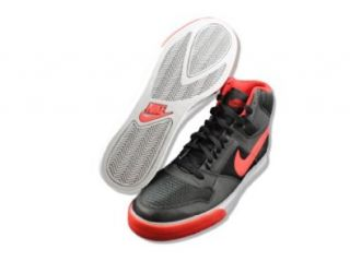 Nike Delta Force High AC   Black / Sport Red Wolf Grey White, 9.5 D US Shoes