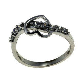 Romantic Jewelry Indian Sterling Silver Heart Ring for Women Size 6 ShalinCraft Jewelry