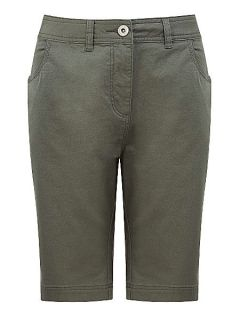 Dash Khaki Cotton Twill City Short Olive