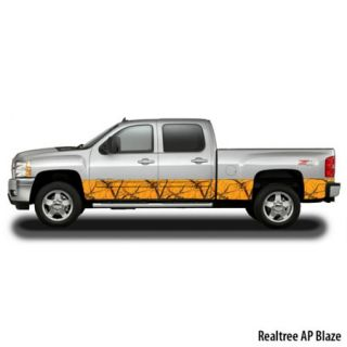 CamoWraps Premium Accent Kit Extended Cab 4 Door Truck/SUV 16 x 14 Realtree 774058