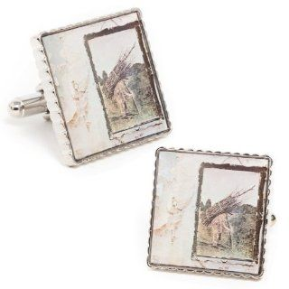 Led Zeppelin IV Album Cover Cufflinks Jewelry